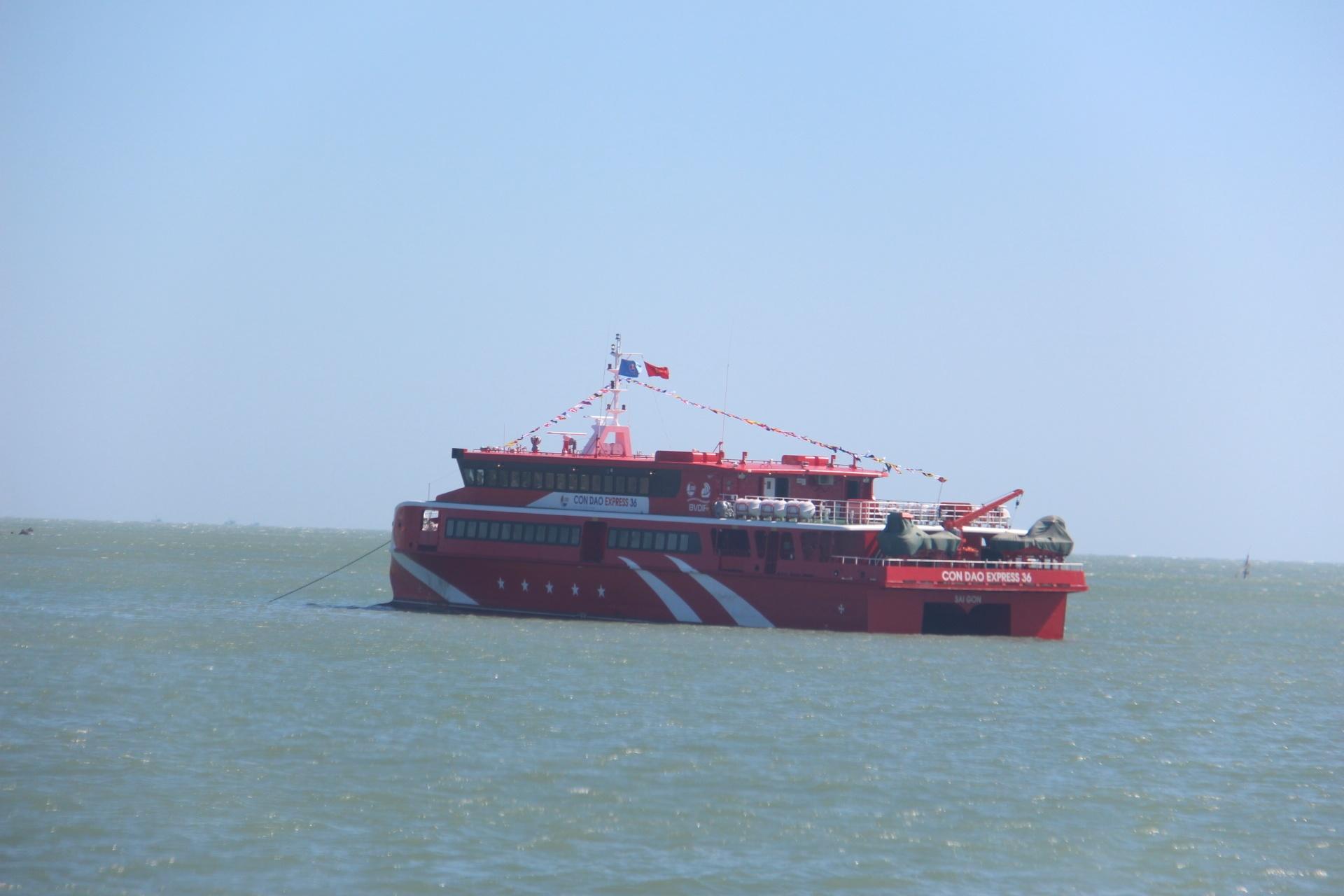 Bắt đầu khai thác tuyến tàu cao tốc Vũng Tàu - Côn Đảo Ảnh 8