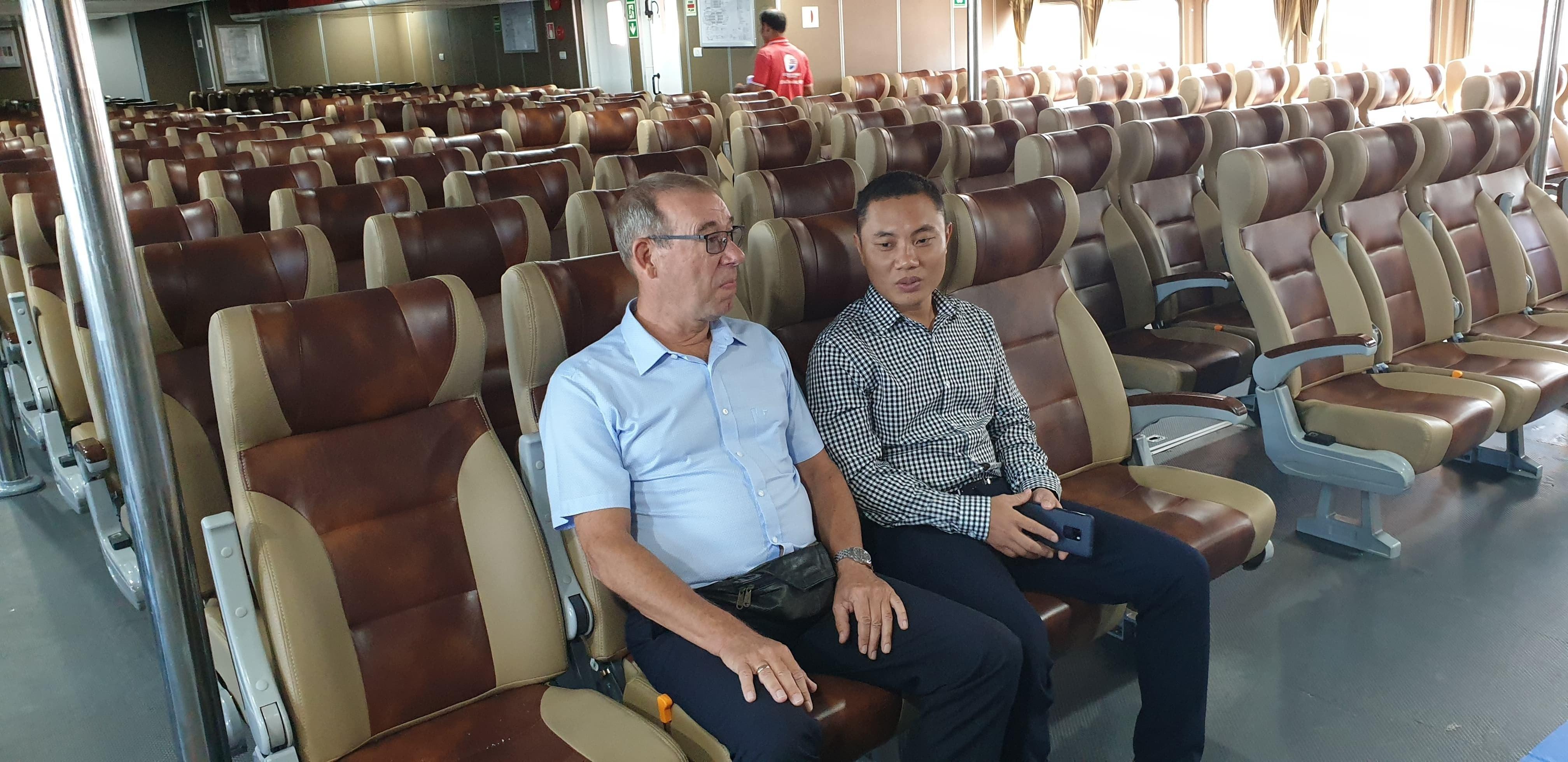 Bắt đầu khai thác tuyến tàu cao tốc Vũng Tàu - Côn Đảo Ảnh 6