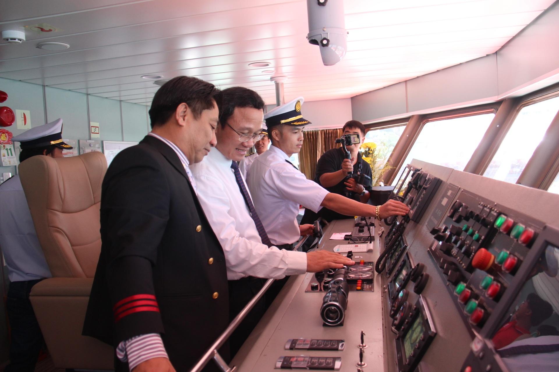 Bắt đầu khai thác tuyến tàu cao tốc Vũng Tàu - Côn Đảo Ảnh 4