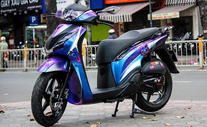 'Độ' xe máy, chủ xe có thể bị phạt tới 1 triệu đồng Ảnh 1
