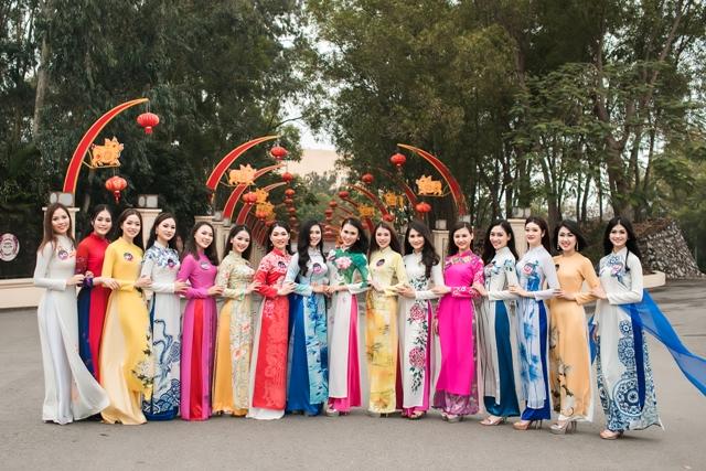 Thí sinh Người đẹp Kinh Bắc 2019 hoàn thành các phần thi phụ Ảnh 1