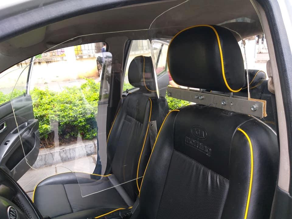 100% xe taxi tại Việt Nam sắp được lắp vách ngăn chống cướp? Ảnh 3