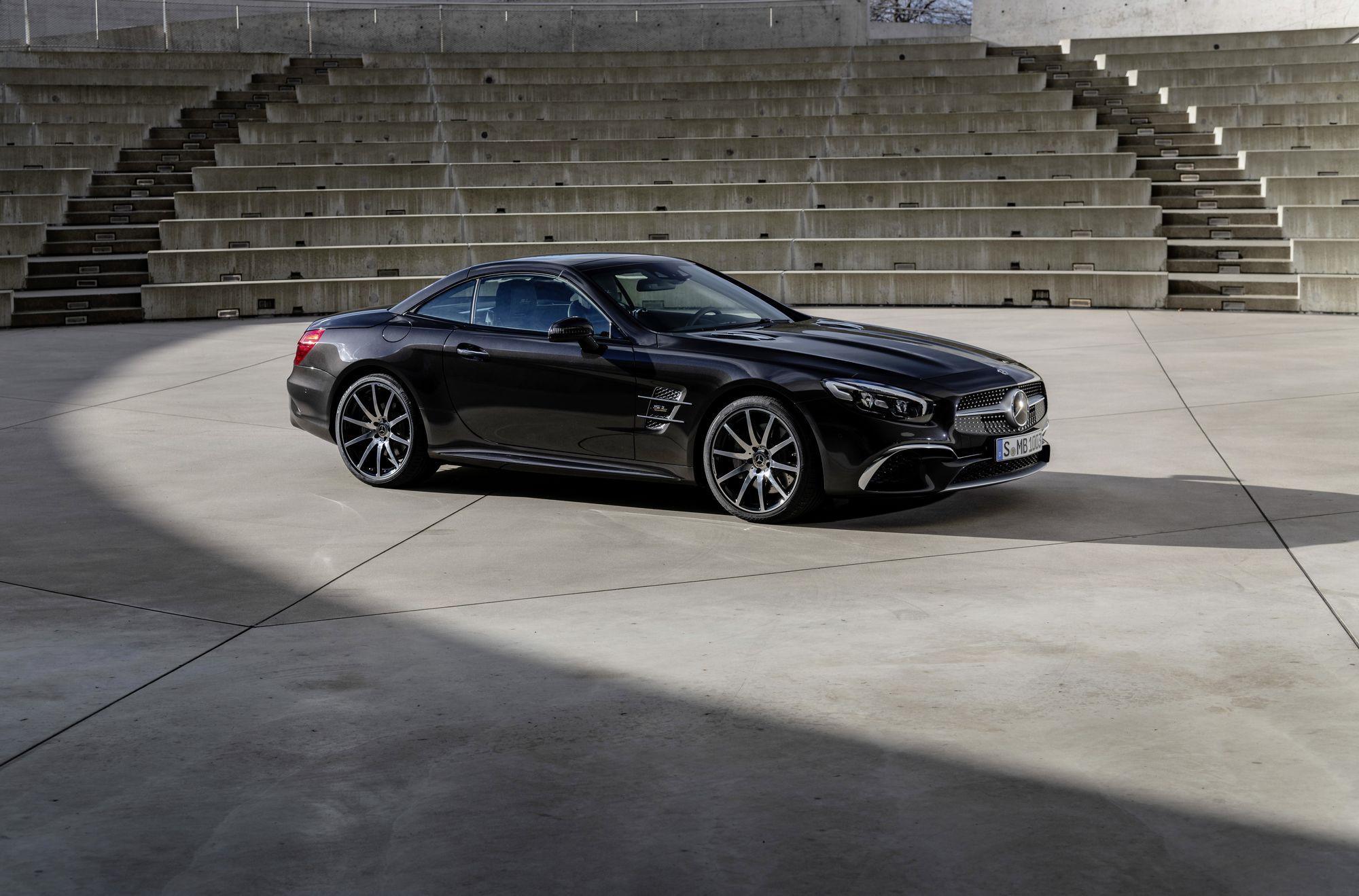 Mui trần hạng sang Mercedes-Benz SL Grand Edition giá từ 130.000 USD Ảnh 7