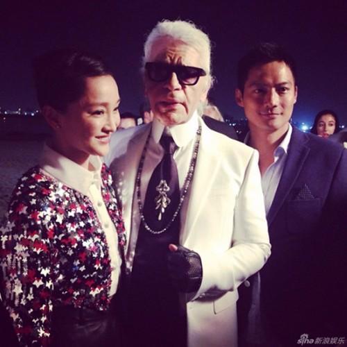 Tiết lộ người đẹp Việt hiếm hoi được trò chuyện với Karl Lagerfeld Ảnh 2