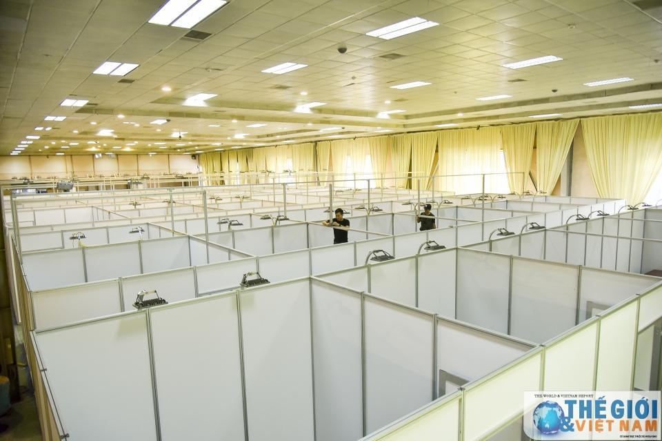 Trung tâm Báo chí quốc tế tất bật chuẩn bị trước thềm Hội nghị thượng đỉnh Mỹ - Triều Ảnh 6