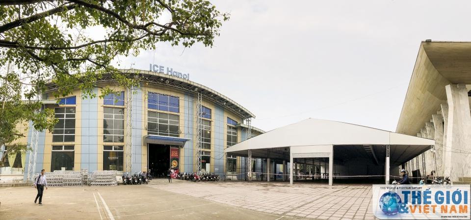 Trung tâm Báo chí quốc tế tất bật chuẩn bị trước thềm Hội nghị thượng đỉnh Mỹ - Triều Ảnh 3