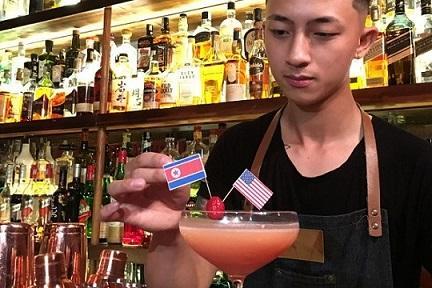 Quán bar Hà Nội phục vụ đồ uống đặc biệt chào mừng cuộc gặp Trump-Kim Ảnh 1