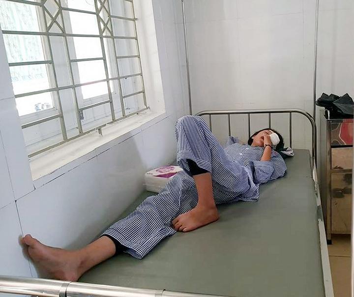 Hà Tĩnh: Nổ bình thí nghiệm, 3 học sinh nhập viện Ảnh 1