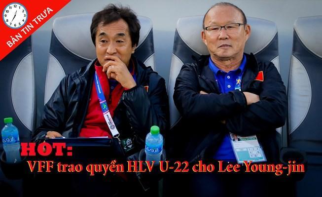 Lee Young-jin chính thức nắm tuyển U-22 Việt Nam Ảnh 1