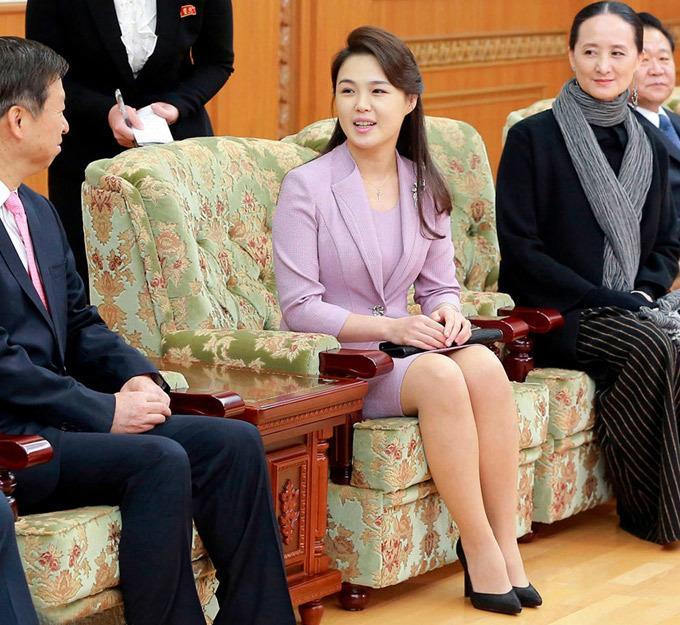 Phu nhân ông Kim Jong Un: Biểu tượng thời trang của phụ nữ Triều Tiên Ảnh 6