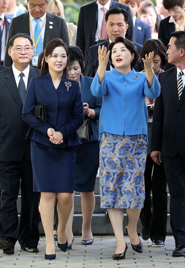 Phu nhân ông Kim Jong Un: Biểu tượng thời trang của phụ nữ Triều Tiên Ảnh 5