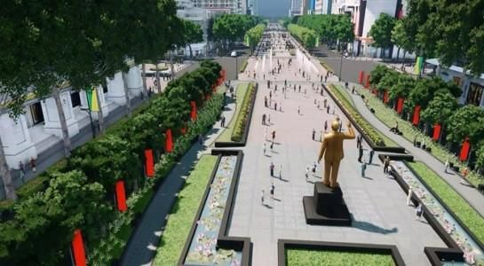 Từ tháng 3, TP.HCM cấm xe vào đường Nguyễn Huệ vào tối cuối tuần Ảnh 1