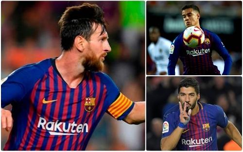 Đội hình 'siêu tấn công' giúp Barca đả bại Sevilla? Ảnh 1