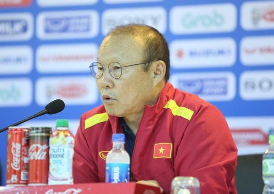 HLV Park Hang Seo cảm nhận rõ áp lực trước tấm HCV SEA Games Ảnh 1