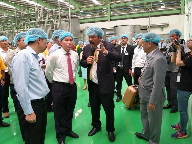 Khánh thành nhà máy nước giải khát lớn nhất ĐBSCL Ảnh 3