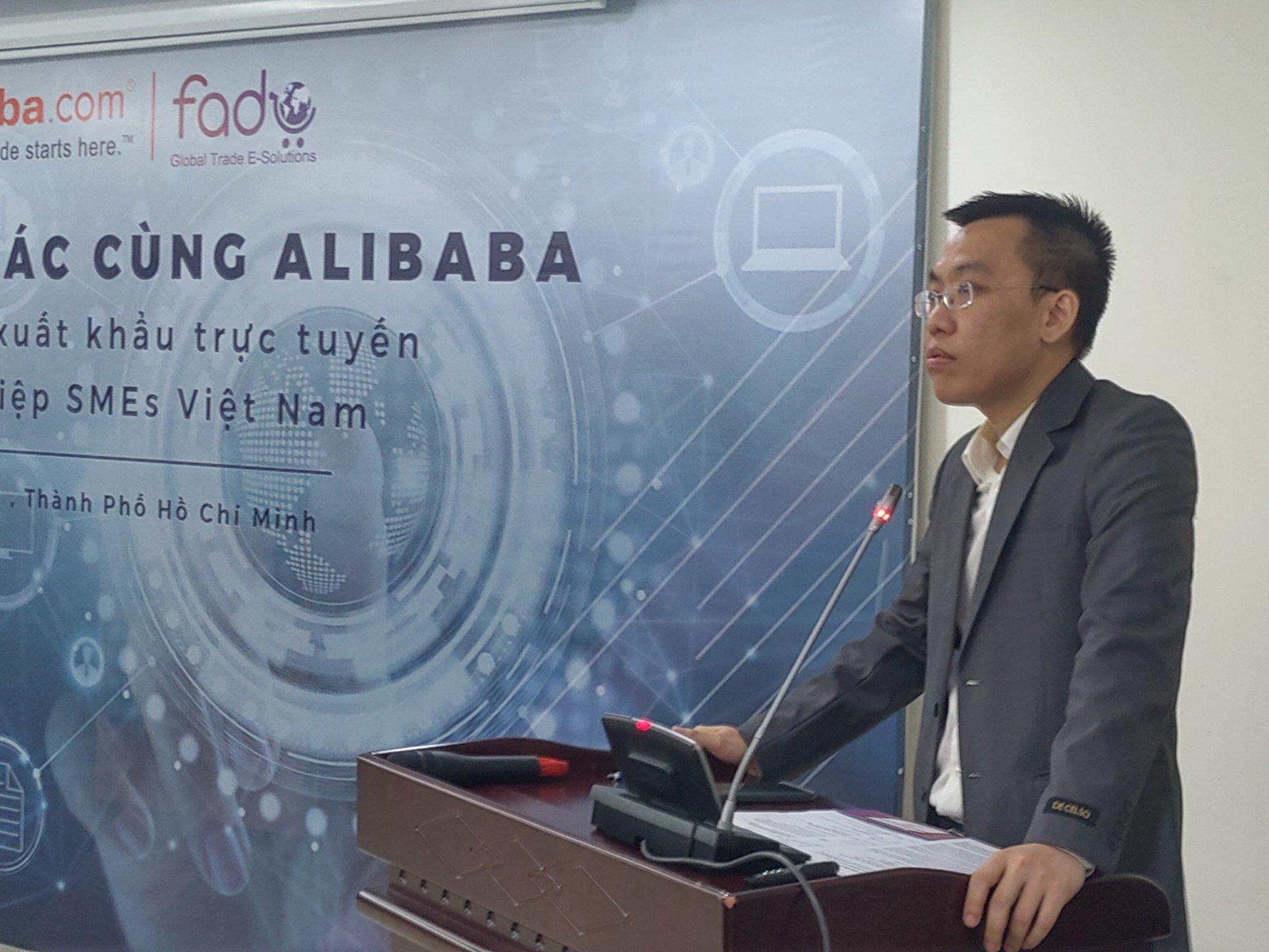 Công bố hợp tác giữa Alibaba.com và Fado.vn Ảnh 2