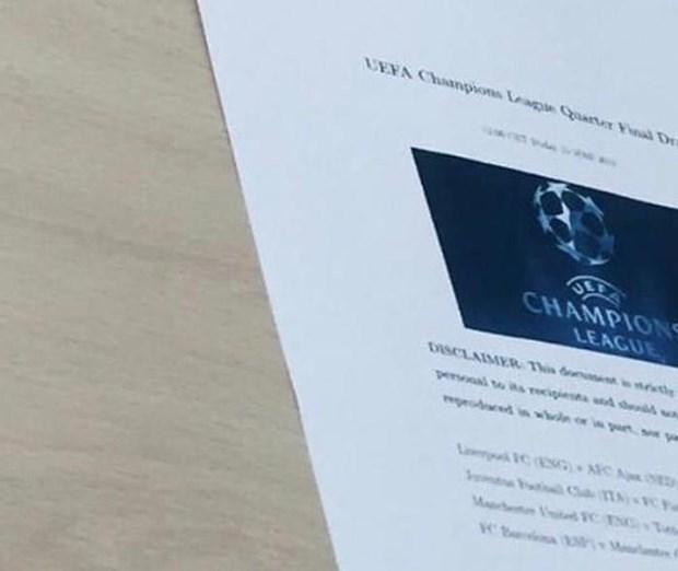 Trực tiếp bốc thăm tứ kết Champions League: Chờ 'nội chiến Anh' Ảnh 1