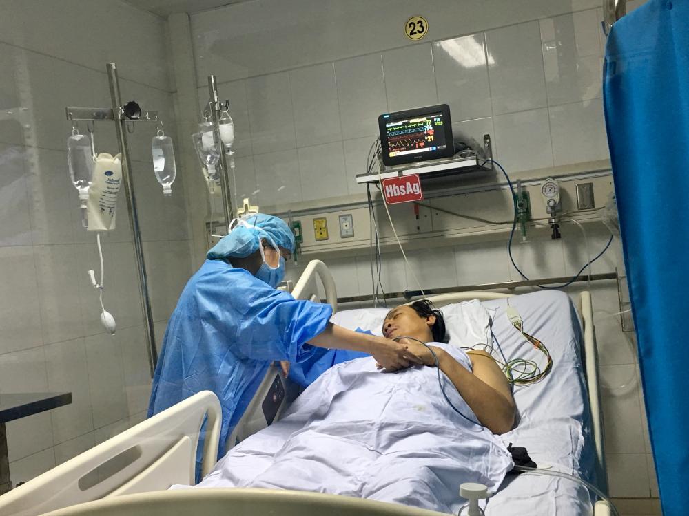 Lần đầu tiên tại Việt Nam: Chia một lá gan từ người cho chết não, cứu cùng lúc hai người Ảnh 2