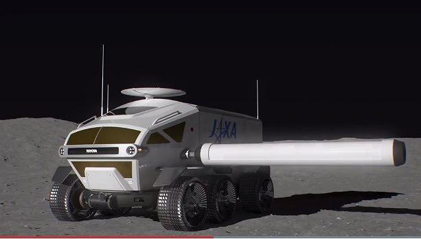 Nhật Bản sẽ có xe hơi du hành mặt trăng vào năm 2029 Ảnh 1