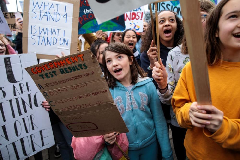 Học sinh, sinh viên trên toàn thế giới biểu tình: 'Hãy cứu lấy tương lai của Trái đất' Ảnh 2