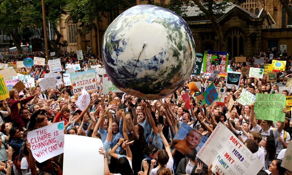 Học sinh, sinh viên trên toàn thế giới biểu tình: 'Hãy cứu lấy tương lai của Trái đất' Ảnh 1