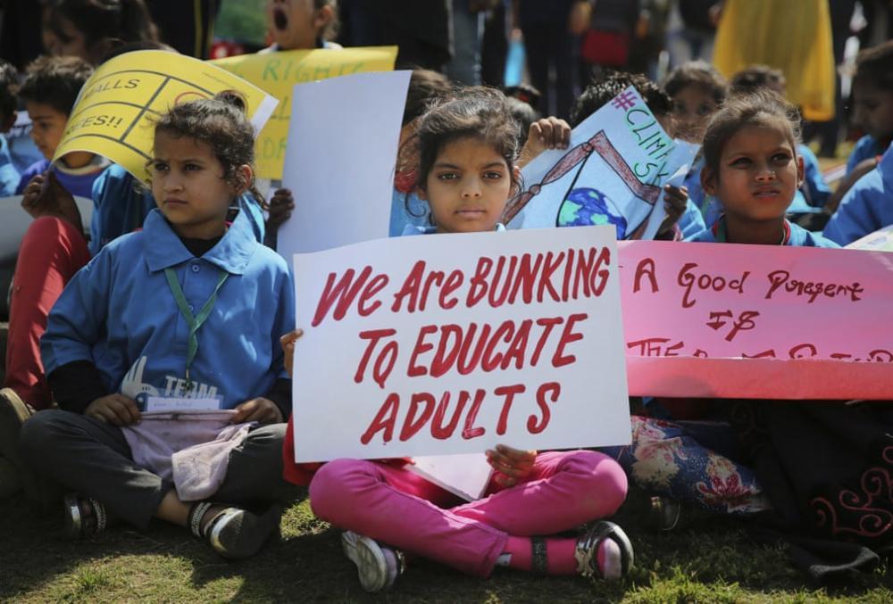 Học sinh, sinh viên trên toàn thế giới biểu tình: 'Hãy cứu lấy tương lai của Trái đất' Ảnh 8