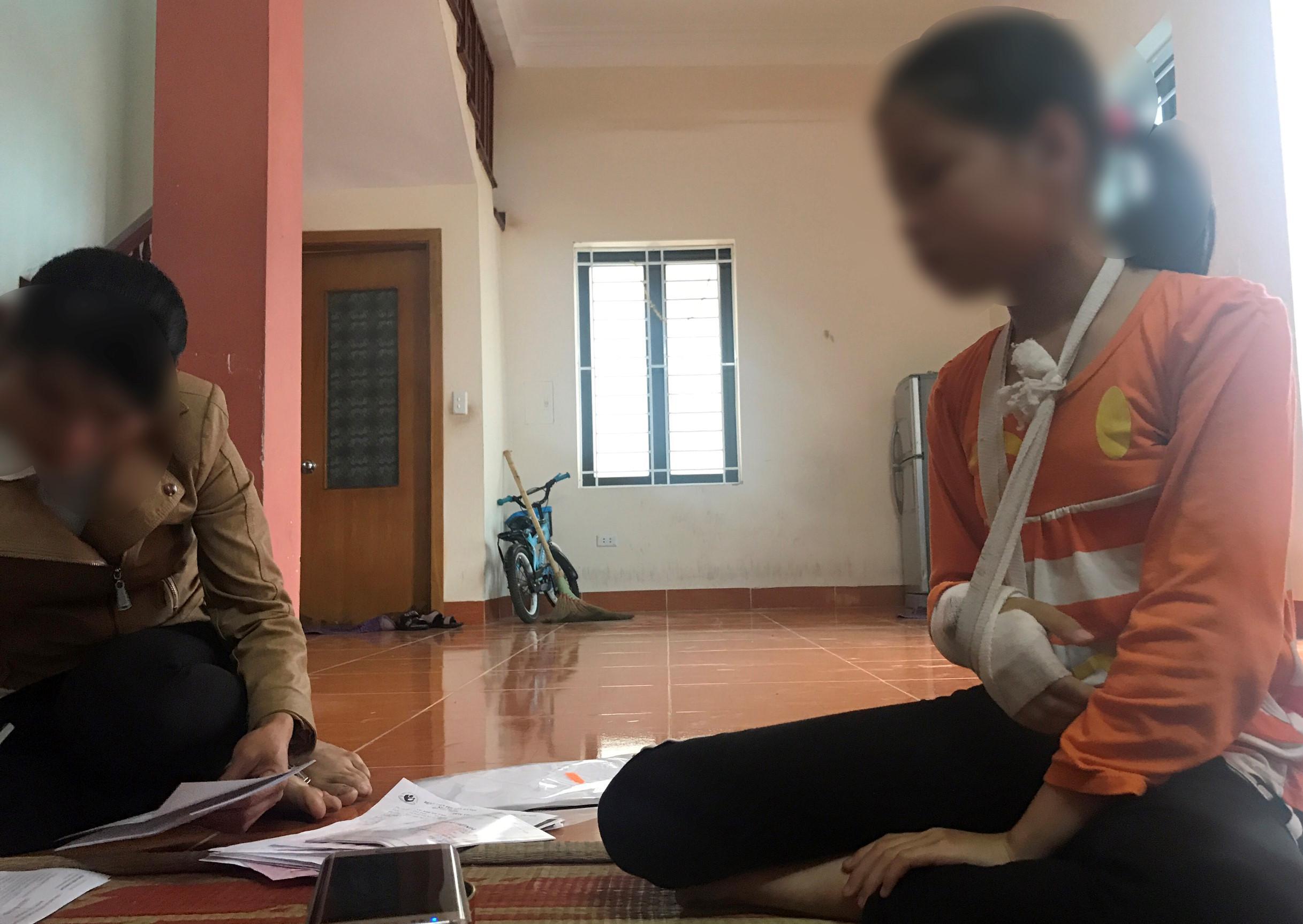 Vụ xâm hại bé gái 9 tuổi: 'Yêu râu xanh' bị tạm giam 2 tháng Ảnh 3