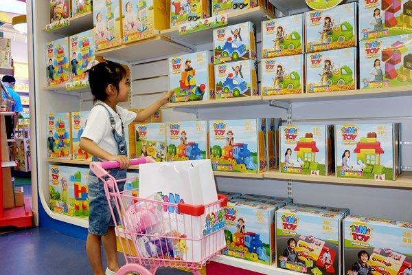 Chủ chuỗi khu vui chơi tiNiWorld ra mắt thương hiệu đồ chơi trẻ em Ảnh 1
