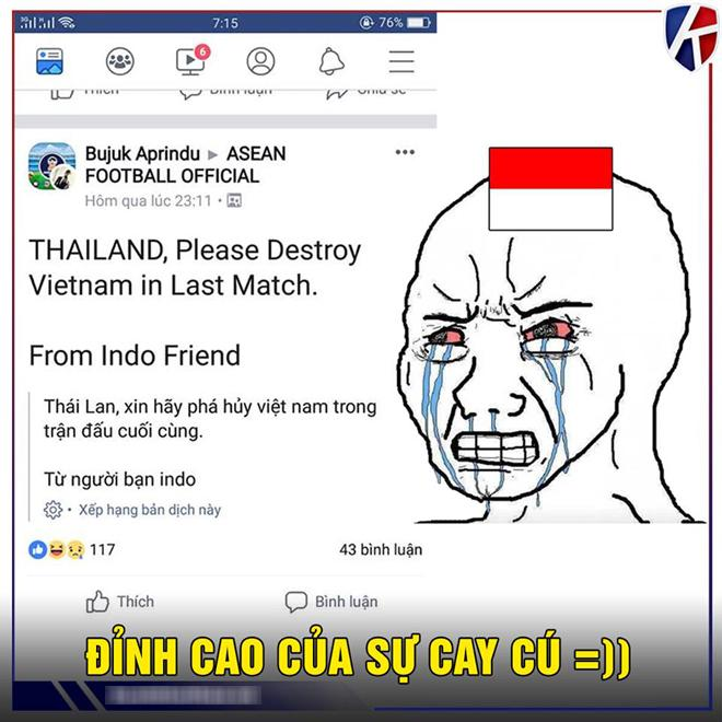 CĐV Indonesia viết 'tâm thư' nhờ Thái Lan 'xử đẹp' đội U23 Việt Nam Ảnh 1