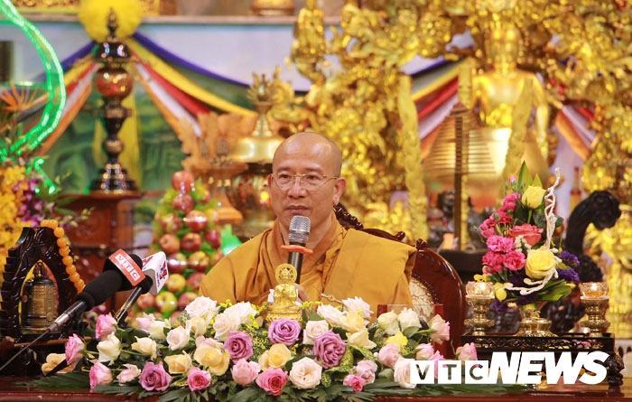 Đại đức Thích Trúc Thái Minh vẫn giữ chức vụ Trụ trì chùa Ba Vàng Ảnh 1
