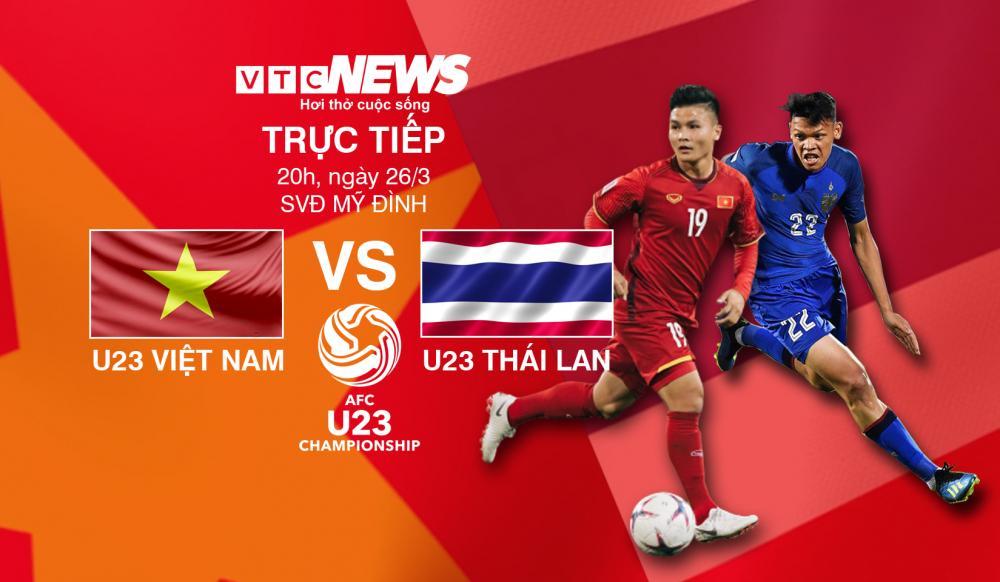 Video trực tiếp U23 Việt Nam vs U23 Thái Lan, vòng loại U23 châu Á 2020 Ảnh 1