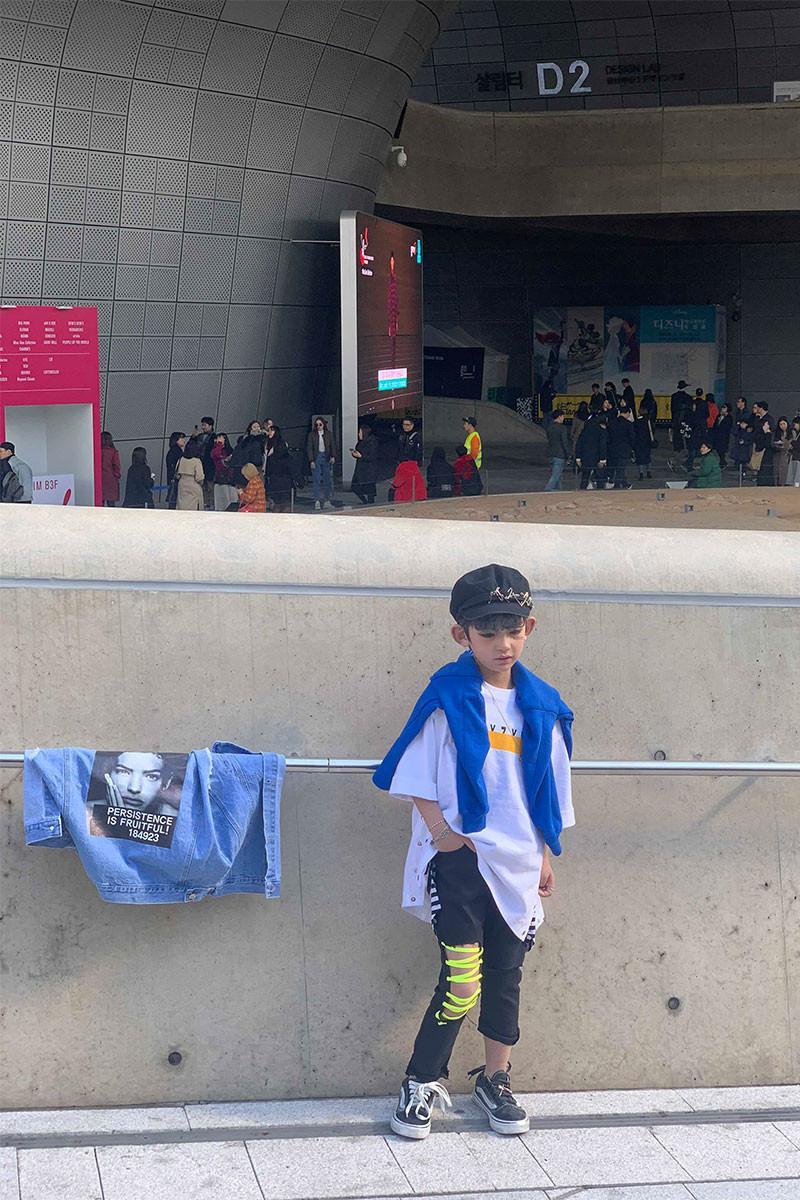 Ngắm thời trang cực sành điệu của các mẫu nhí tại Seoul Fashion Week Ảnh 5
