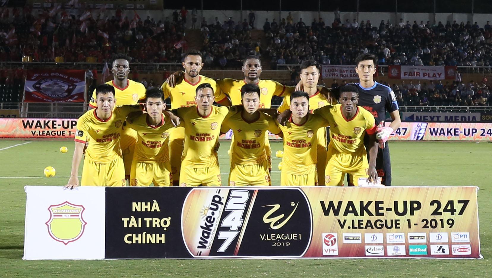 Video trực tiếp Nam Định vs S.Khánh Hòa, vòng 4 V-League 2019 ảnh 1