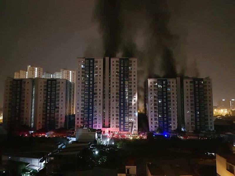 Chủ đầu tư khiếu nại kết luận điều tra vụ cháy Carina Plaza Ảnh 1