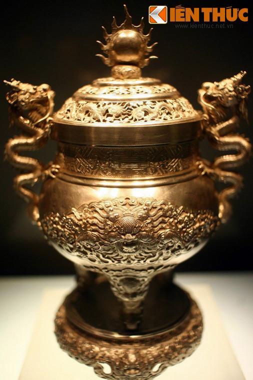 Lóa mắt trước bộ sưu tập rồng bằng vàng khối nhà Nguyễn Ảnh 14