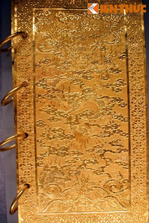 Lóa mắt trước bộ sưu tập rồng bằng vàng khối nhà Nguyễn Ảnh 9