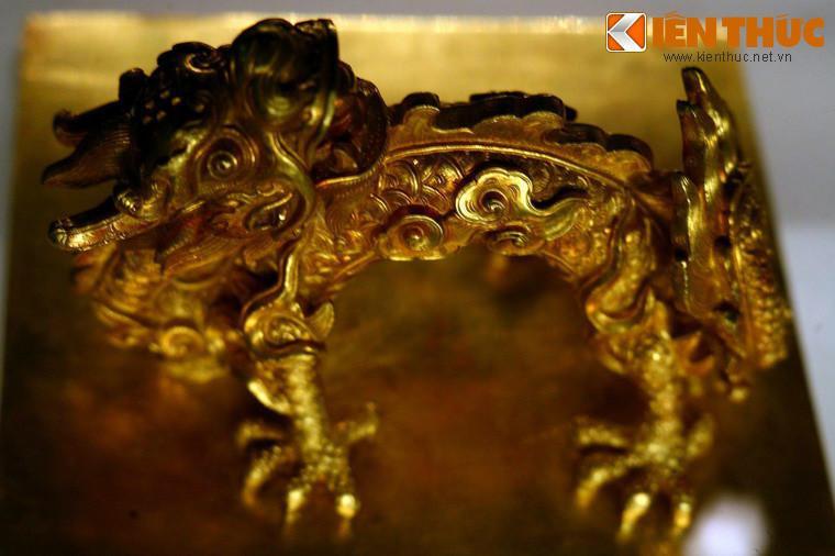 Lóa mắt trước bộ sưu tập rồng bằng vàng khối nhà Nguyễn Ảnh 5