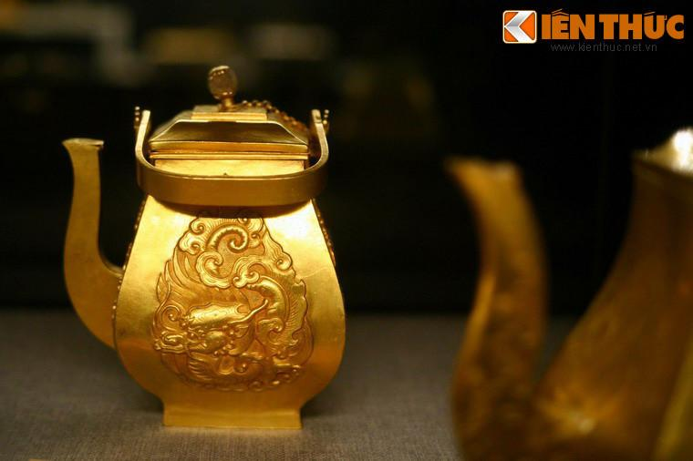 Lóa mắt trước bộ sưu tập rồng bằng vàng khối nhà Nguyễn Ảnh 8