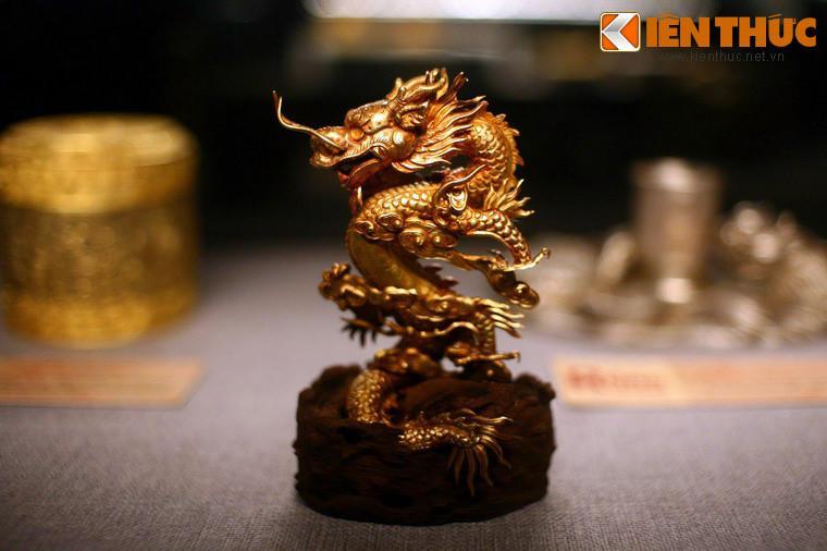 Lóa mắt trước bộ sưu tập rồng bằng vàng khối nhà Nguyễn Ảnh 2