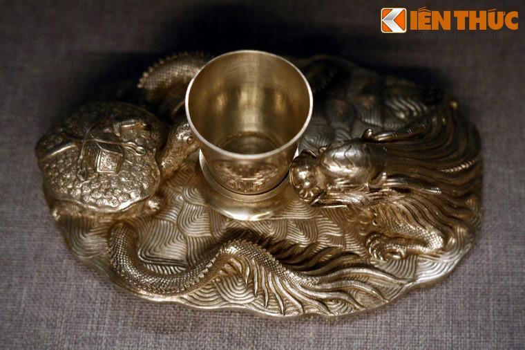Lóa mắt trước bộ sưu tập rồng bằng vàng khối nhà Nguyễn Ảnh 12