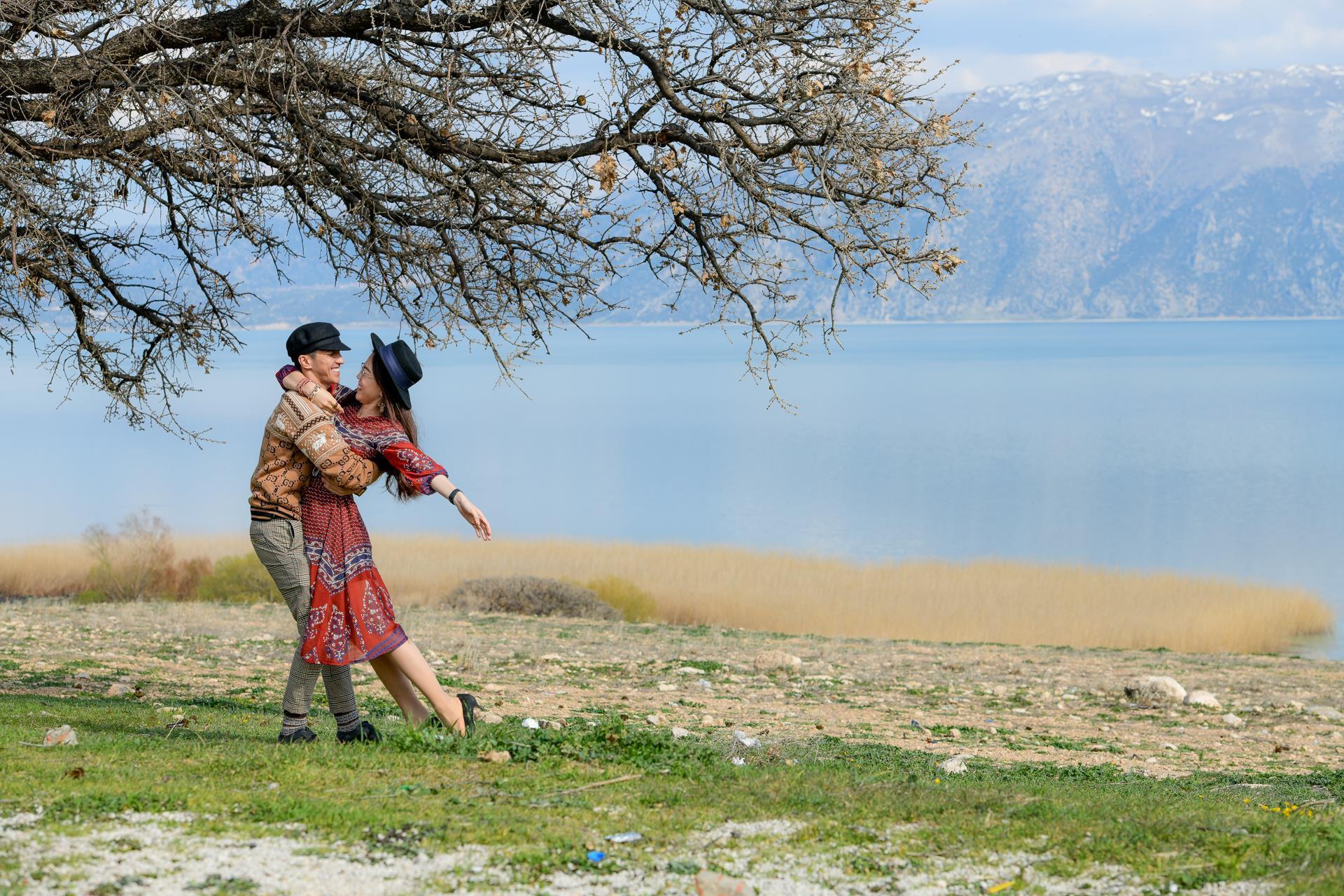 Á hậu Phương Nga tình tứ với bạn trai Bình An ở Thổ Nhĩ Kỳ Ảnh 8