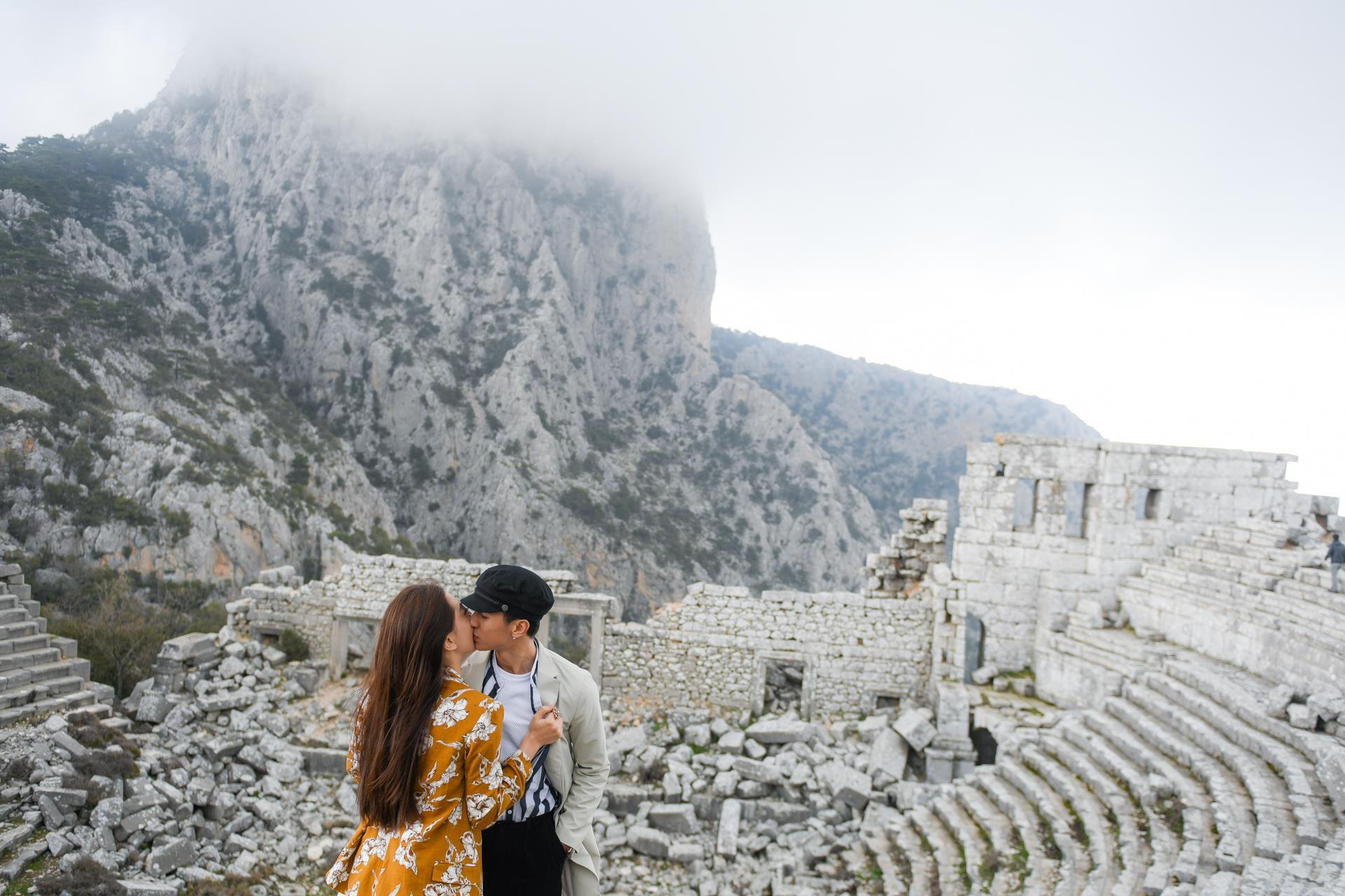 Á hậu Phương Nga tình tứ với bạn trai Bình An ở Thổ Nhĩ Kỳ Ảnh 6