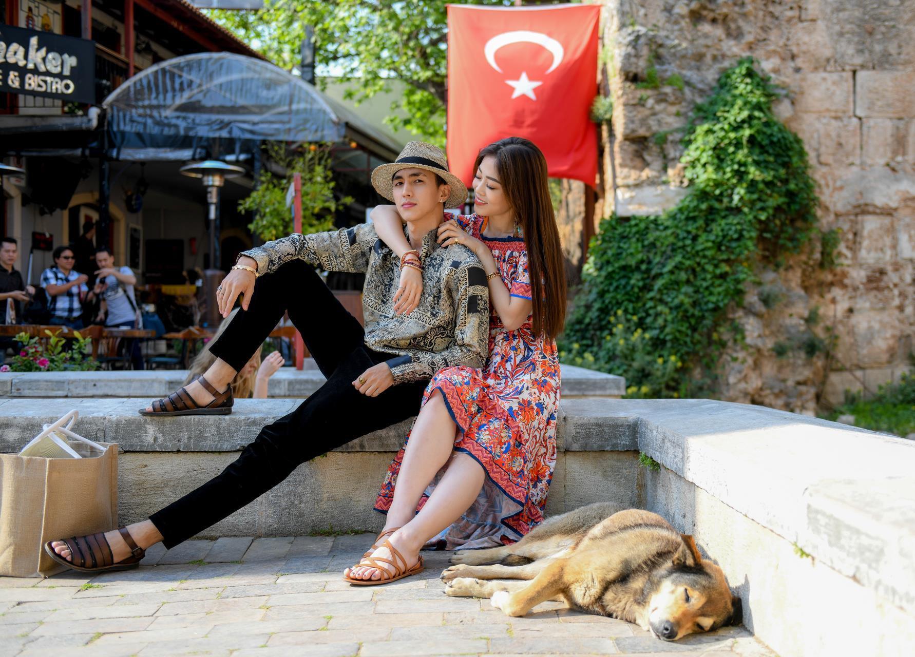 Á hậu Phương Nga tình tứ với bạn trai Bình An ở Thổ Nhĩ Kỳ Ảnh 5