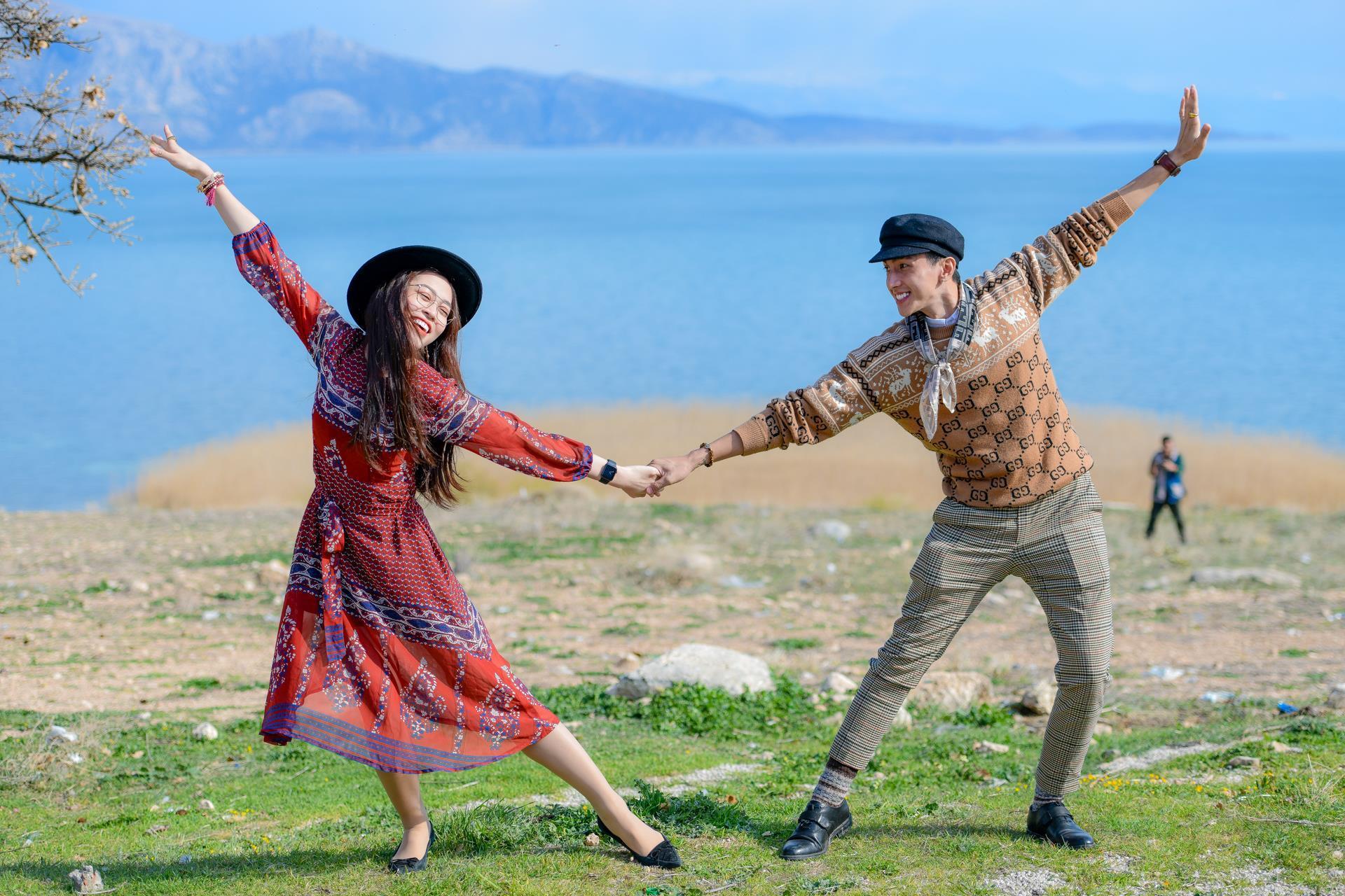 Á hậu Phương Nga tình tứ với bạn trai Bình An ở Thổ Nhĩ Kỳ Ảnh 9