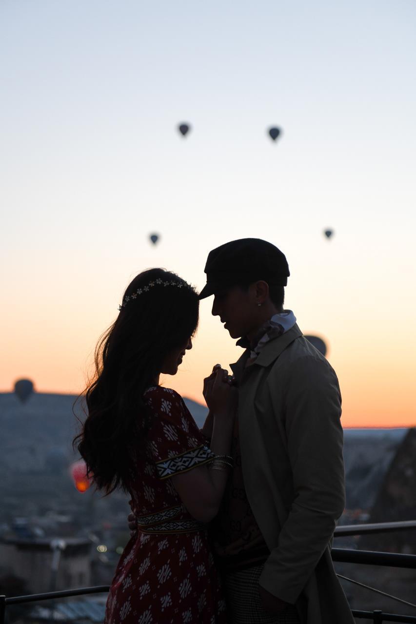 Á hậu Phương Nga tình tứ với bạn trai Bình An ở Thổ Nhĩ Kỳ Ảnh 10