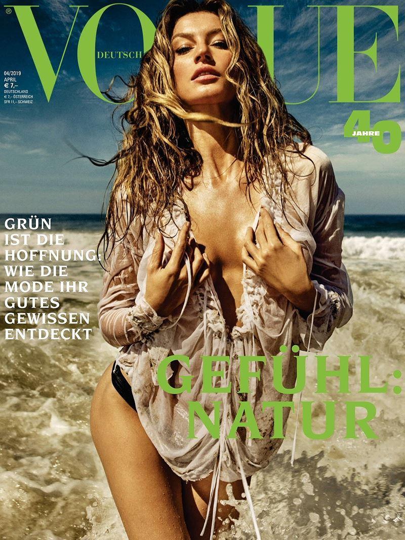 Siêu mẫu Gisele Bundchen hóa nữ thần biển cả táo bạo gợi cảm Ảnh 2