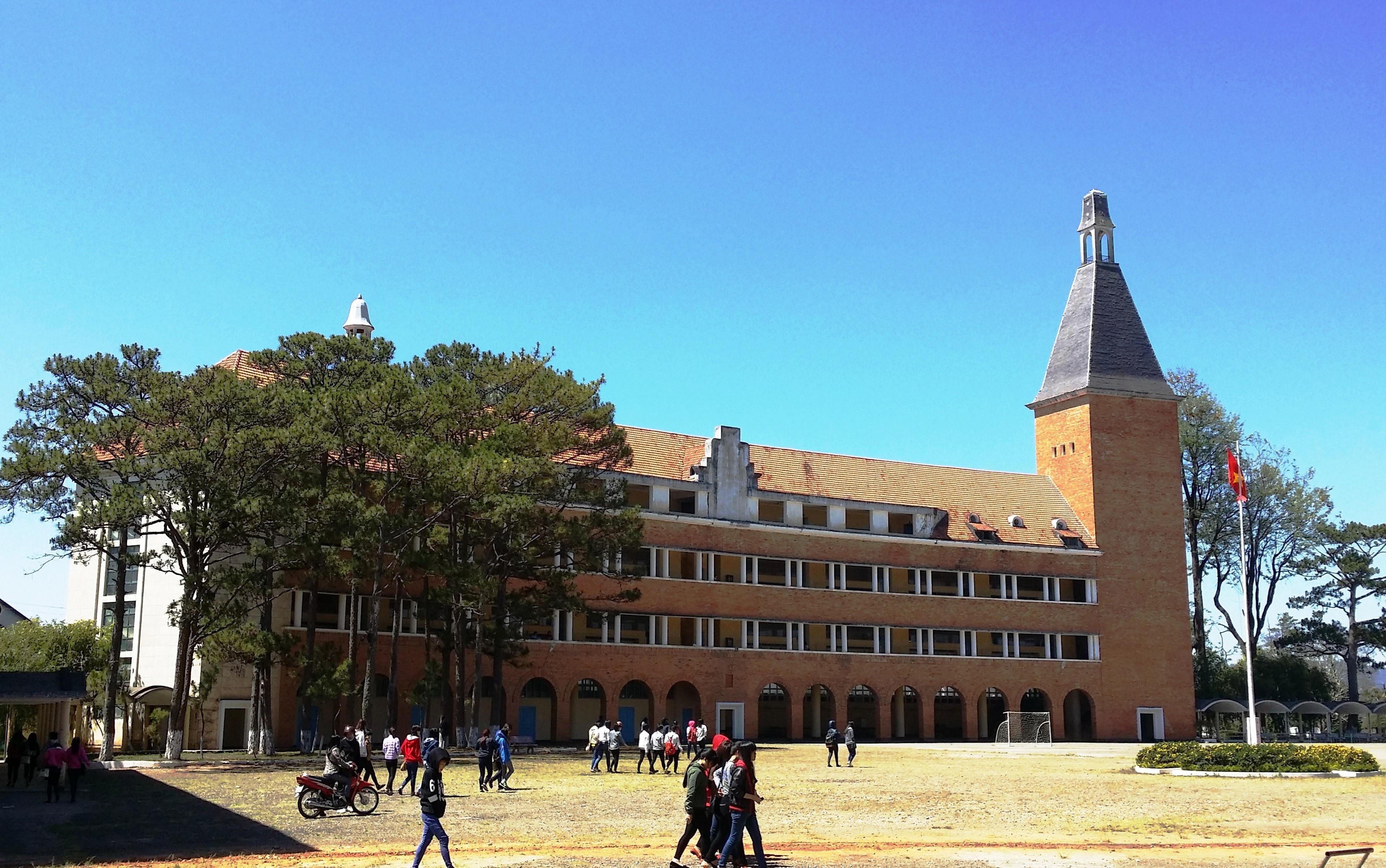 Độc đáo kiến trúc Trường cao đẳng Sư phạm Đà Lạt Ảnh 7