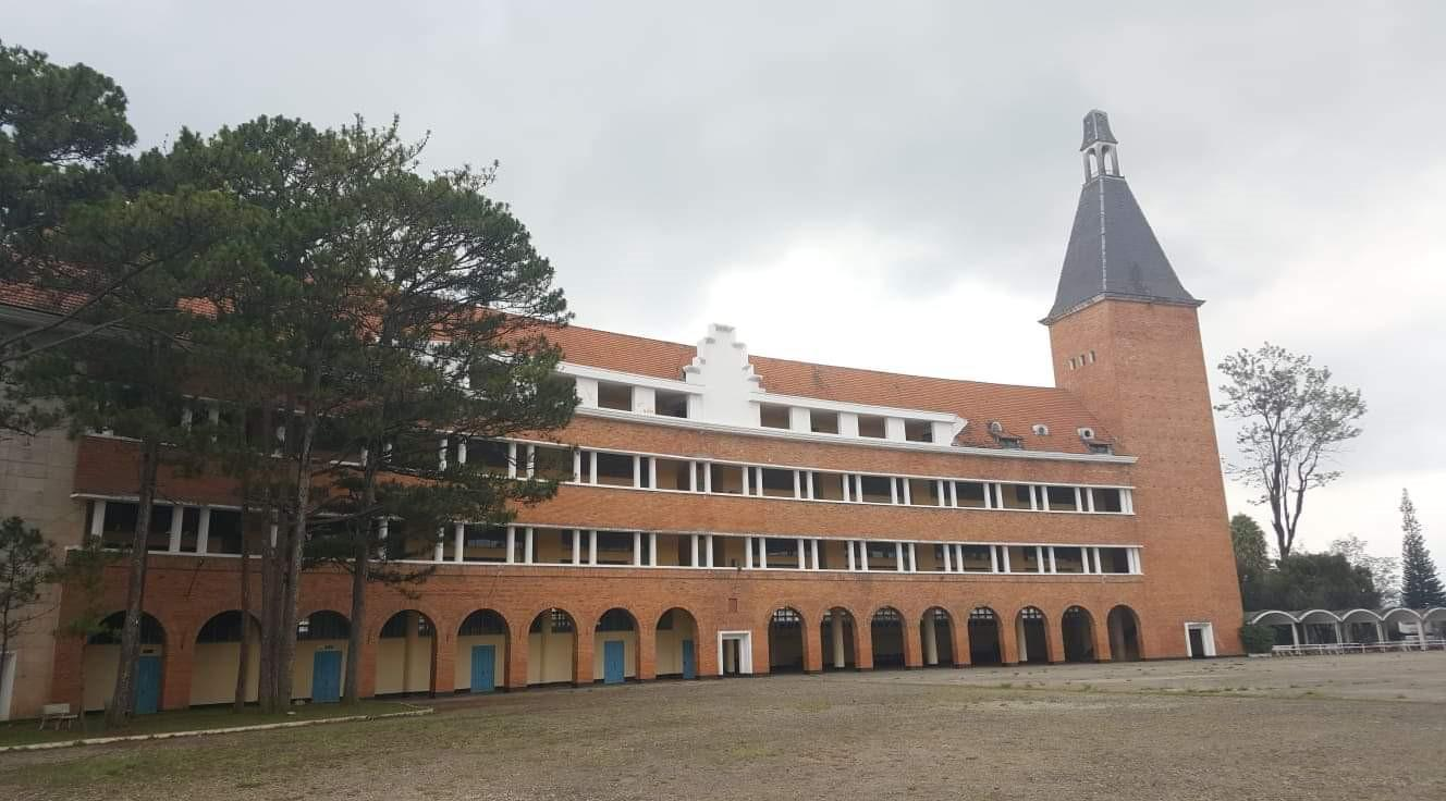 Độc đáo kiến trúc Trường cao đẳng Sư phạm Đà Lạt Ảnh 3