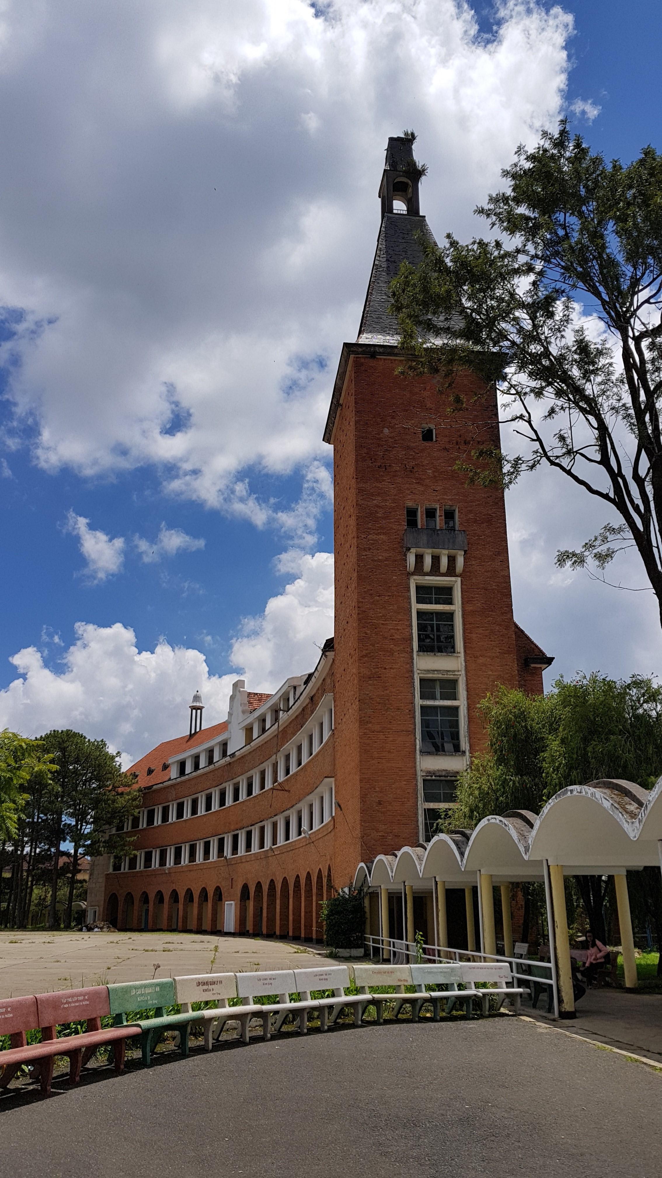 Độc đáo kiến trúc Trường cao đẳng Sư phạm Đà Lạt Ảnh 10