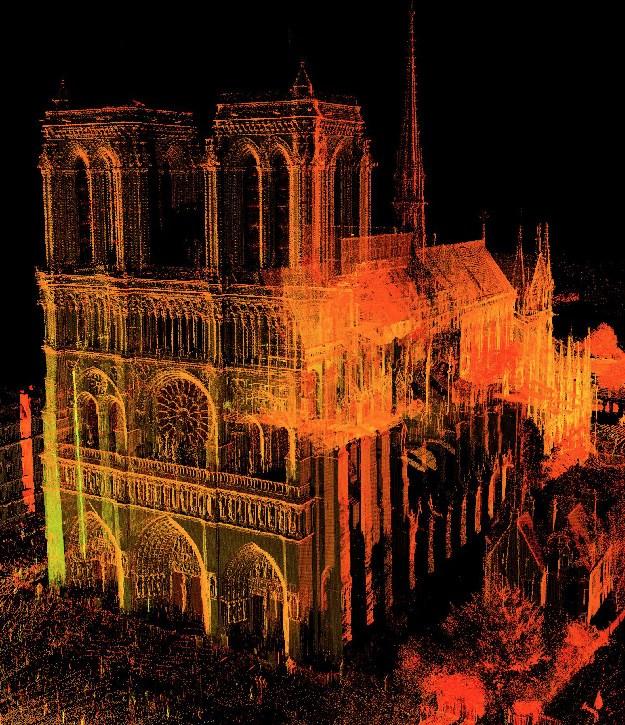 Công nghệ độc đáo này có thể giúp phục chế lại toàn bộ Nhà thờ Đức bà Paris sau vụ hỏa hoạn thảm khốc Ảnh 1